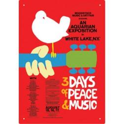 Woodstock Poster Tin