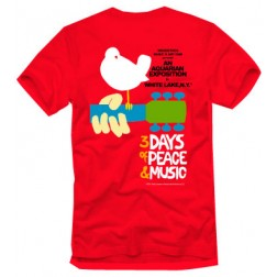 Original Woodstock Poster T-Shirt