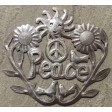Recycled Metal Peaceful Harmony Sign