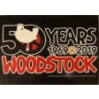 Woodstock 50th Anniversary Official Logo Postcard