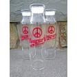 Yasgur's Farm Glass Water Bottle