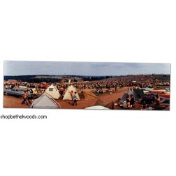 Woodstock Tents/First Day Bookmark: Elliott Landy