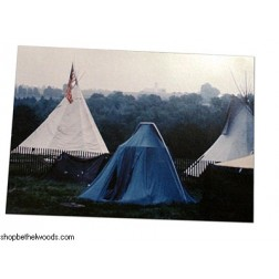 Past Tents: Postcard: Barry Z Levine