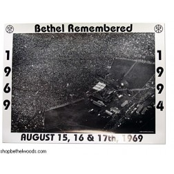 '69-'94: Woodstock Anniversary: Paul Gerry: Poster