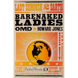 Barenaked Ladies - Collectible Hatch Show Print