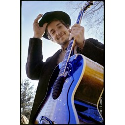 Bob Dylan Litho by Elliott Landy
