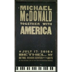 Michael McDonald & America - Collectible Hatch Show Print