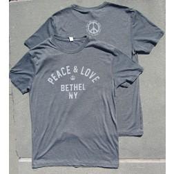 Bethel Woods Peace & Love T-Shirt