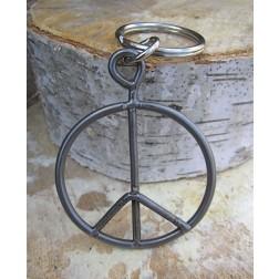 Peace Fence Artisan Keychain
