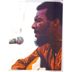 Richie Havens Close Up: Photo: 8x10: Barry Z Levine