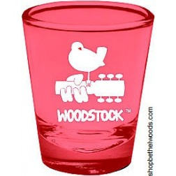 Red Woodstock: Shot Glass