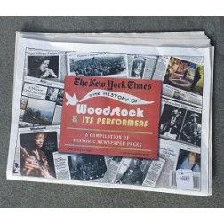 The History of Woodstock New York Times Newspaper