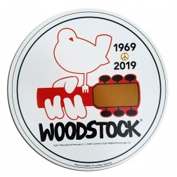 Woodstock Round 50th Anniversary Car Magnet