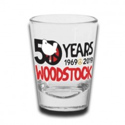 Woodstock 50th Anniversary Shot Glass